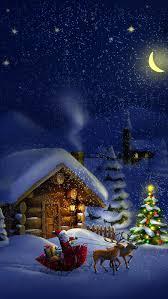 Christmas night with Santa 4K