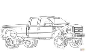 ford truck coloring pages new ford trucks coloring pages