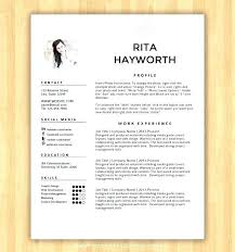 Resume Templates Free Download Mesmerizing creative resume templates for microsoft word shopeljefeco