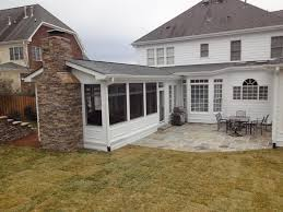 screened in porch with fireplace. Outdoor Fireplace By Wilmington Deck And Screen Porch Builder Serving Snead\u0027s Ferry To Screened In With