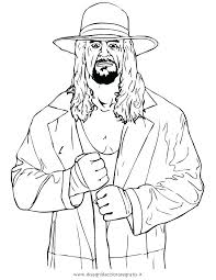 Wwe Coloring Pages 2018