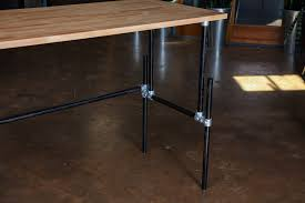 plans mid century simple standing desk