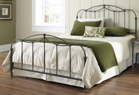 Affinity Iron Bed in Blackened Taupe | Humble Abode