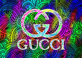 Gucci Pattern Impressive Gucci Multi Color With Pattern Background Digital Art By Ricky Barnard