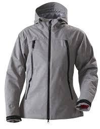 <b>Куртка женская ELIZABETH</b>, <b>серый</b> меланж, размер XL оптом под ...