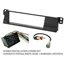 bmw stereo wiring harness not lossing wiring diagram • amazon com bmw stereo wiring harness dash install kit faceplate rh amazon com bmw e90 stereo