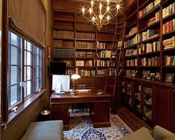 home office library furniture. traditional freestanding desk dark wood floor home office idea in toronto library furniture