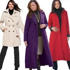 plus size parka plus size trench coats