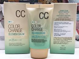 welcos color change blemish balm spf25 pa 50ml