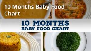 10 Months Indian Baby Food Chart Meal Plan Or Diet Chart