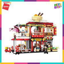 Bộ Đồ Chơi Xếp Hình Thông Minh Lego Qman: Nhà Hàng Ẩm Thực Trung Hoa 1137  Cho Trẻ Từ 6 Tuổi tại Hà Nội