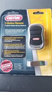 genie garage door remote