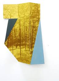 yellow and blue by margaret saliske inkjet and aluminum