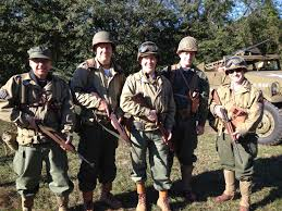 army recon scout 82nd rcn bn 2ad wwii reenacted