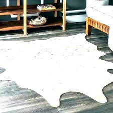 fake cowhide rug ikea animal skin rugs south zebra for real faux vs print furniture