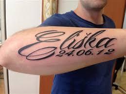 Písmo Nápisy A Citáty Tattoo Kovtun