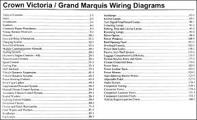 2006 crown victoria grand marquis original wiring diagram manual covers all 2006 ford crown victoria models including the lx and all 2006 mercury grand marquis models including the gs and ls