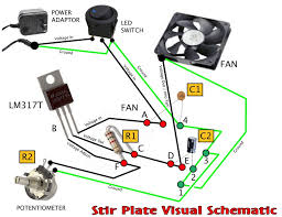 led potentiometer wiring diagram wirescheme resistor as well led potentiometer wiring diagram