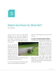 a compendium of essays green clean guide 13