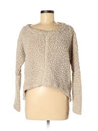 True Grit Size Chart Details About True Grit Women Ivory Pullover Sweater M