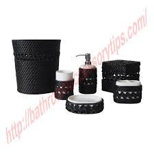 Black Bathroom Accessories Black Bathroom Accessories 4 Black Bathroom Accessories Tsc
