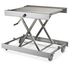 Stainless Steel Table Top New Swedish Military Surplus Stainless Steel Adjustable Table