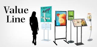 Display Boards Free Standing Floor Stands Finest Selection of Sign Holders Poster Stands 85
