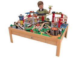 Discovery Kids Wooden Table Train Set Discovery Kids Play. View Larger