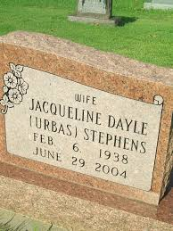 Jacqueline Dayle Stephens (1938-2004) - Find A Grave Memorial