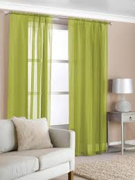 lime green curtain panels marvelous slot top voile olive curtains contemporary window terrys