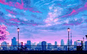 Wallpaper Skyscrapers Tokyo Lights ...