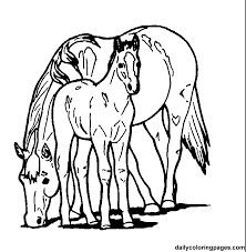 Small Picture Horse Coloring Pages For Girls Coloring Home