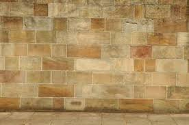 Use a chalk line to layout stone tile. Source. Faux painting stone wall ...