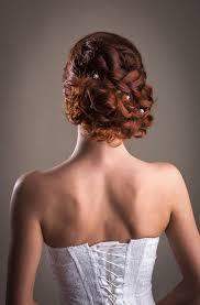 Zapletený Svatební účes Oživený Copem Top Style Salon