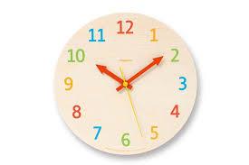 stylish ideas kids wall clocks clock palette morning little man perry