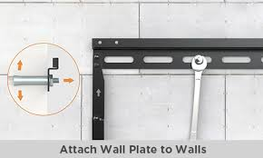 how to install a tv wall mount on