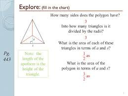 1 Geometry Section 6 3a Regular Polygons Page Ppt Download