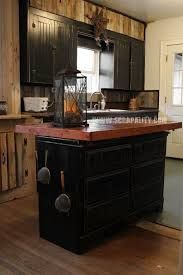 Creative Kitchen Design Simple Pallets Kitchen Island Thrifted Dresser Repurpose Countertop Chalk