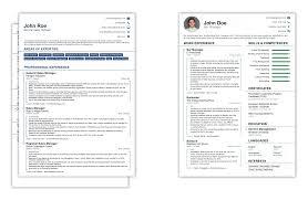 Cv Vs Resume Examples Cv Vs Resume Example Cv Vs Resume Yralaska 19