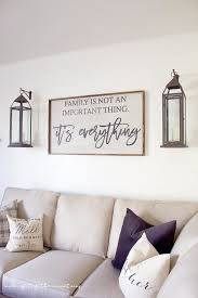 Family room wall art Inspirational Farmhousestylefamilyroom18 Pinterest One Room Challenge week Six Farmhouse Style Family Room Reveal