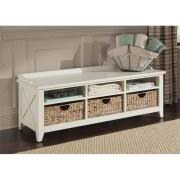 rustic storage bench. Unique Storage Liberty Furniture Hearthstone 6 Cubby Storage Bench In Rustic White On N