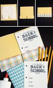 Back To School Invitation Template Folder Invitation 2 Over The Big Moon