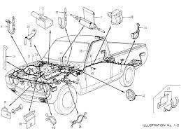 datsun pickup (620) wiring (to aug �74) 76 datsun 620 wiring diagram wiring (to aug