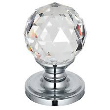 Image Fluted Frelan Swarovski Crystal Door Knob Faceted Small 200050 More Handles Frelan Swarovski Crystal Door Knob 200050 More Handles