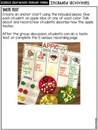 All About Apples Science For Little Learners Preschool Pre K Kinder