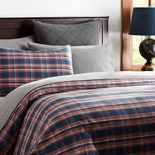 amazing plaid flannel duvet cover pottery barn kids for plaid flannel duvet cover