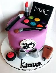 birthday makeup cake