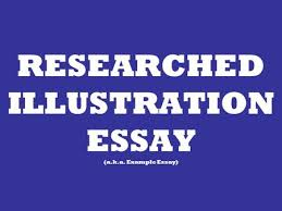 causes and effects part the essay ppt video online  researched illustration essay a k a example essay