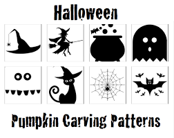Pumpkin Carving Patterns Magnificent Kids Halloween Pumpkin Carving Patterns
