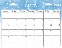 2019 Calendar Printable Template April 2019 Desk Template Calendar Calendar 2018 Calendar 2019